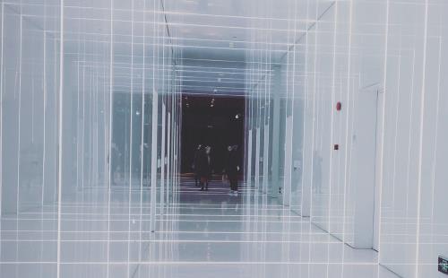 上海复兴广场炫酷电梯拍照装逼圣地