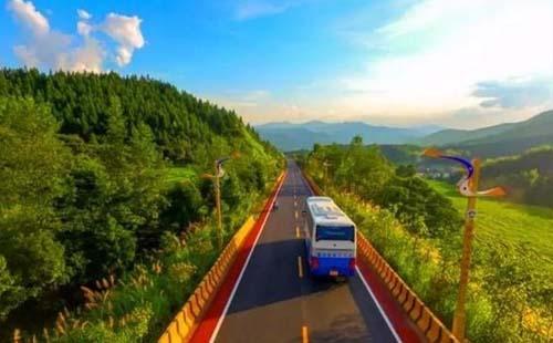 重庆彩色S型公路在哪里  重庆彩色S型公路有哪些特色