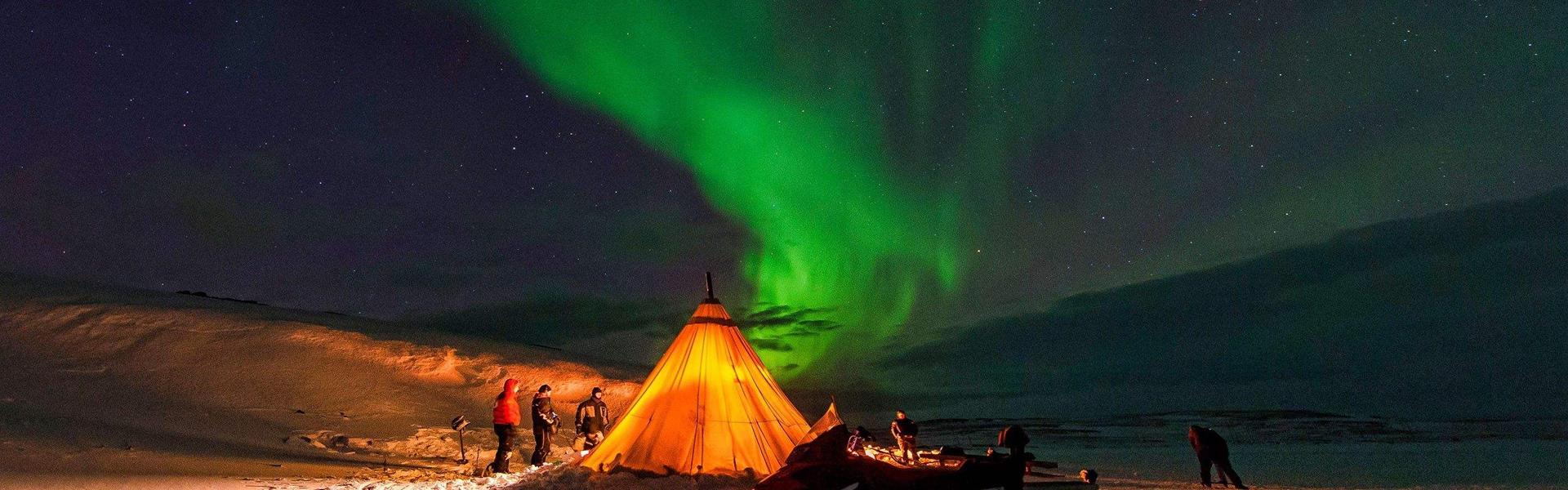 挪威看极光最佳时间 挪威哪里看极光