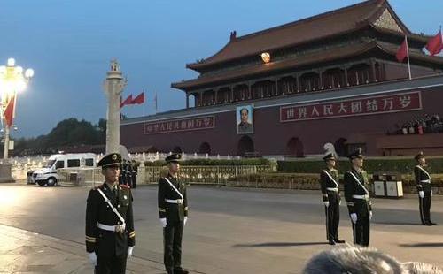 2018北京天安门升国旗观看时间+详细路线攻略
