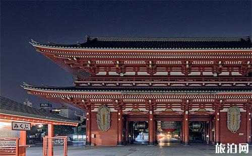 日本浅草寺游玩攻略