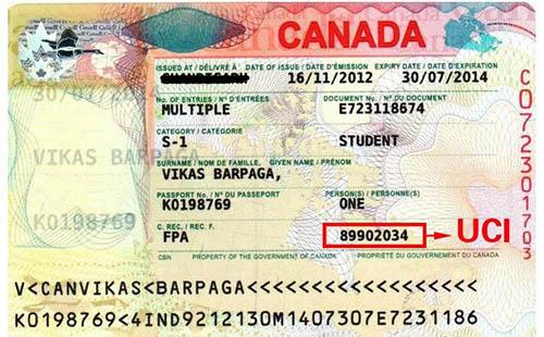 加拿大UCI是什么意思