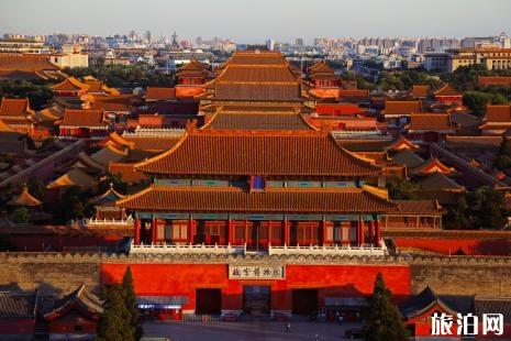周一北京哪些景点开放 故宫周一闭馆吗2018 故宫游玩攻略线路图