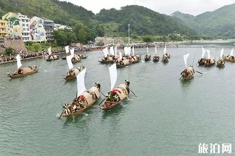 2019楠溪江舴艋舟文化旅游节6月7日开启