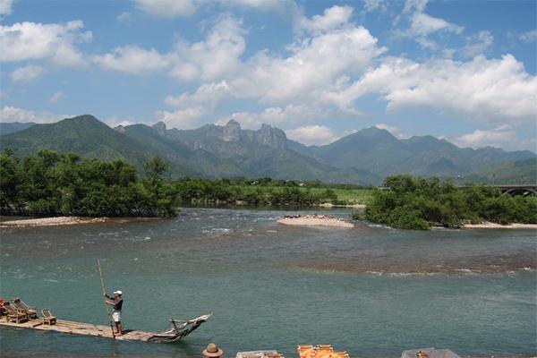 温州楠溪江自驾游必去的精华景区