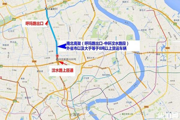 上海外地车限行规定