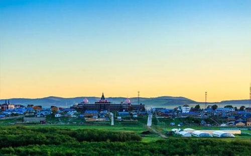 内蒙古室韦镇景点 中国边境魅力名镇